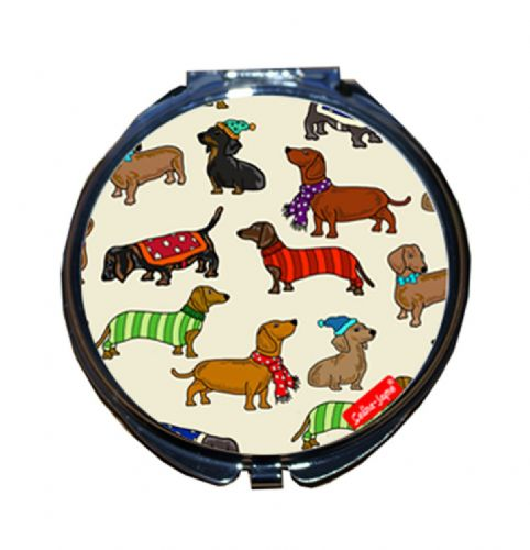 Selina-Jayne Dachshund Limited Edition Compact Mirror